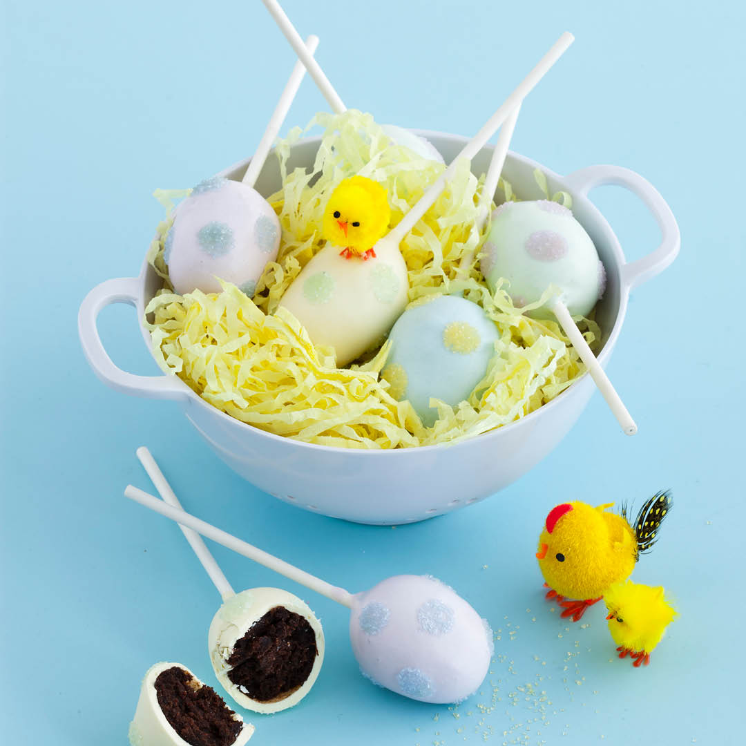 CH4622_Easter Recipes_Easter themed Cake Pops