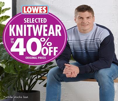 Lowes knitwear 404
