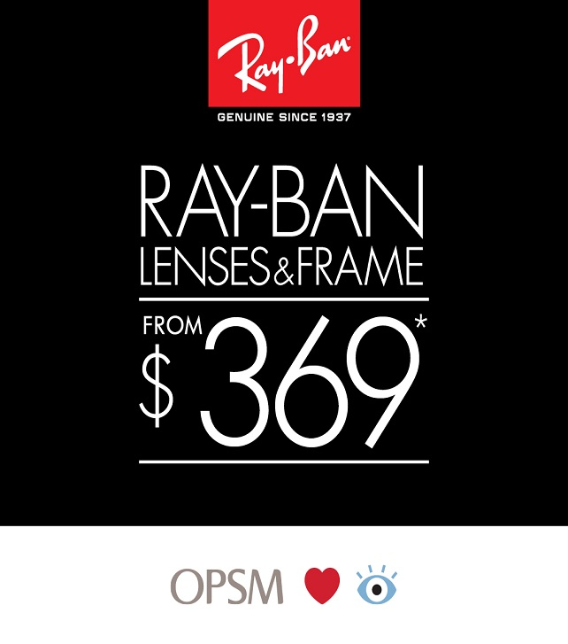 OPSM Ray Ban 642